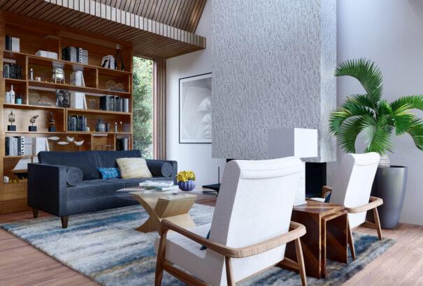 modern design livingroom project 5