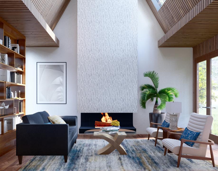 modern design livingroom project 2