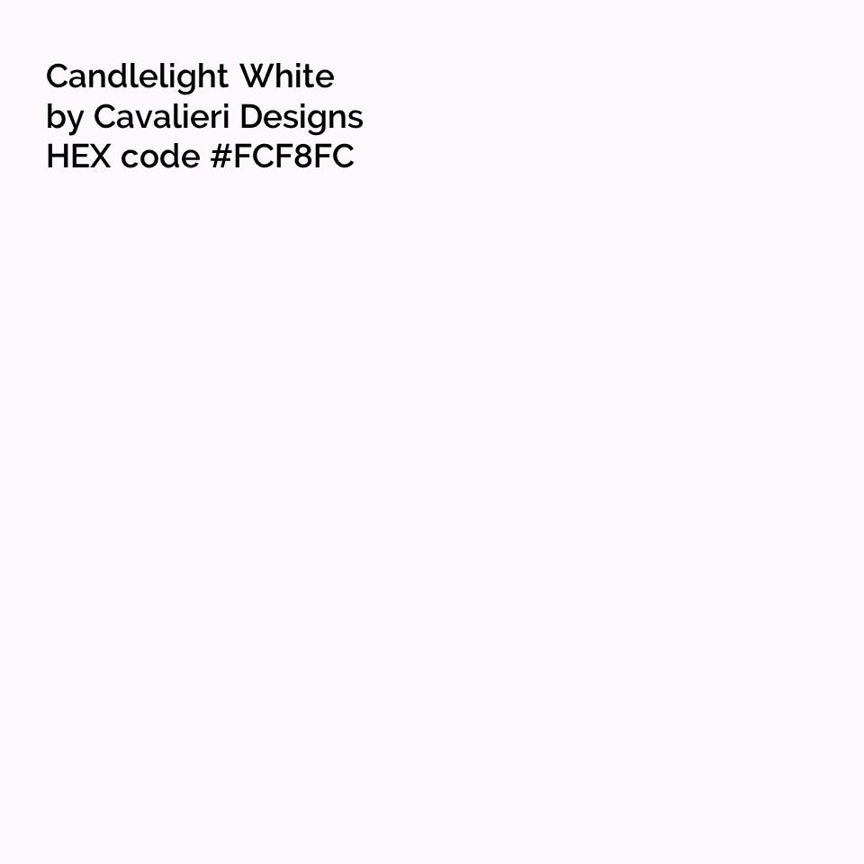 candlelight white