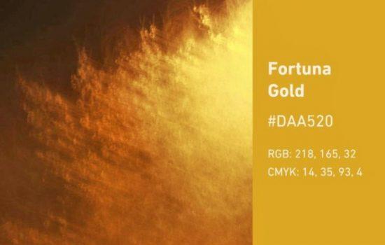 fortuna gold color